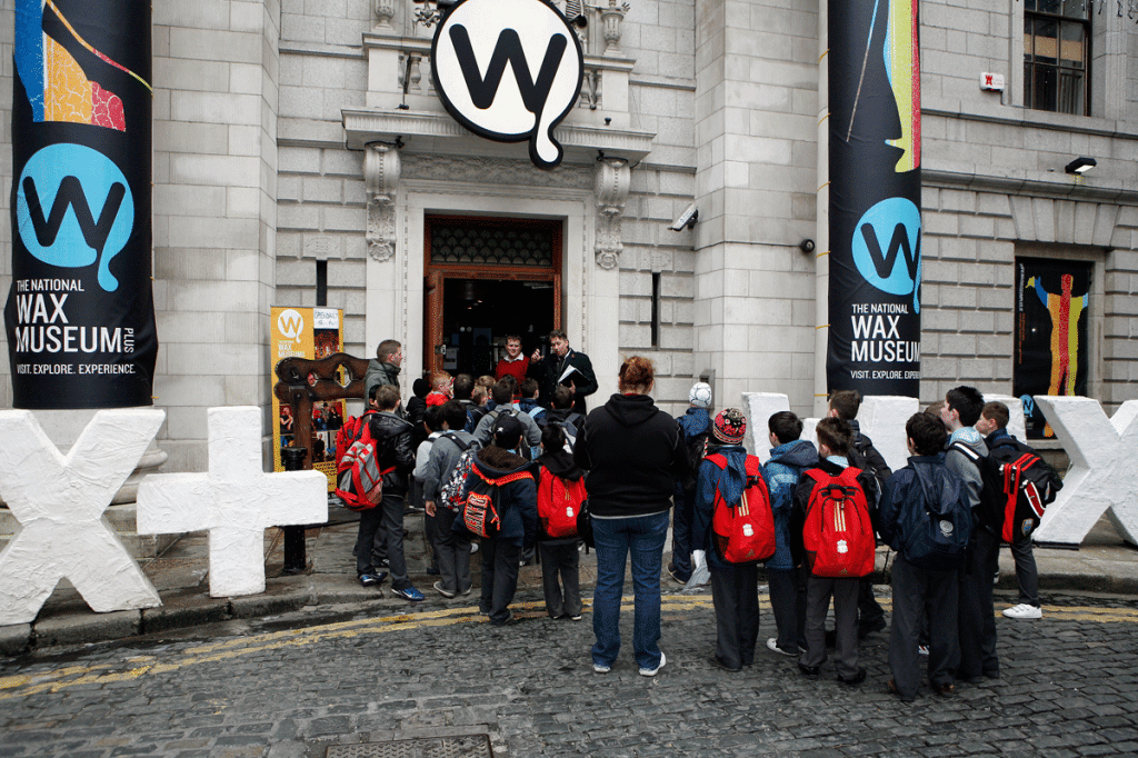 Kids school group tours love to visit the Museum