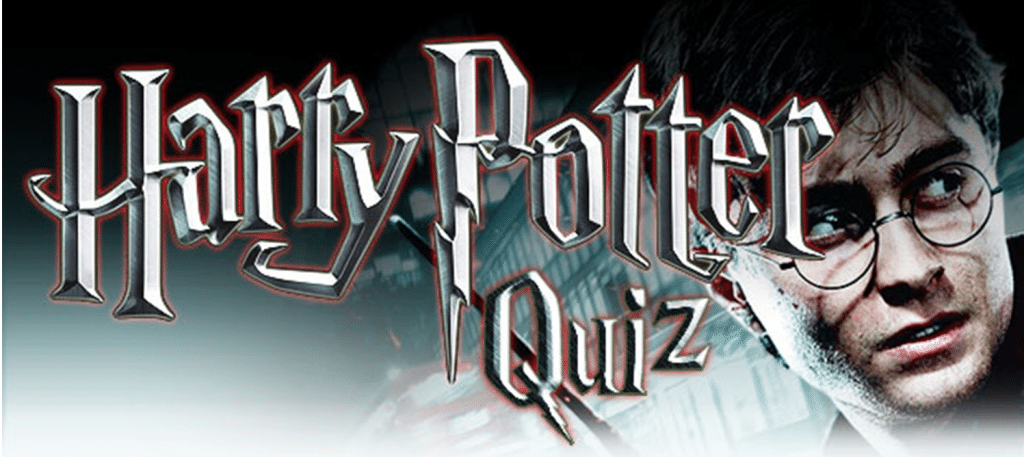 harry potter table quiz