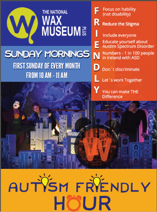 Lights Up Sound Down The National Wax Museum Plus goes Autism Friendly