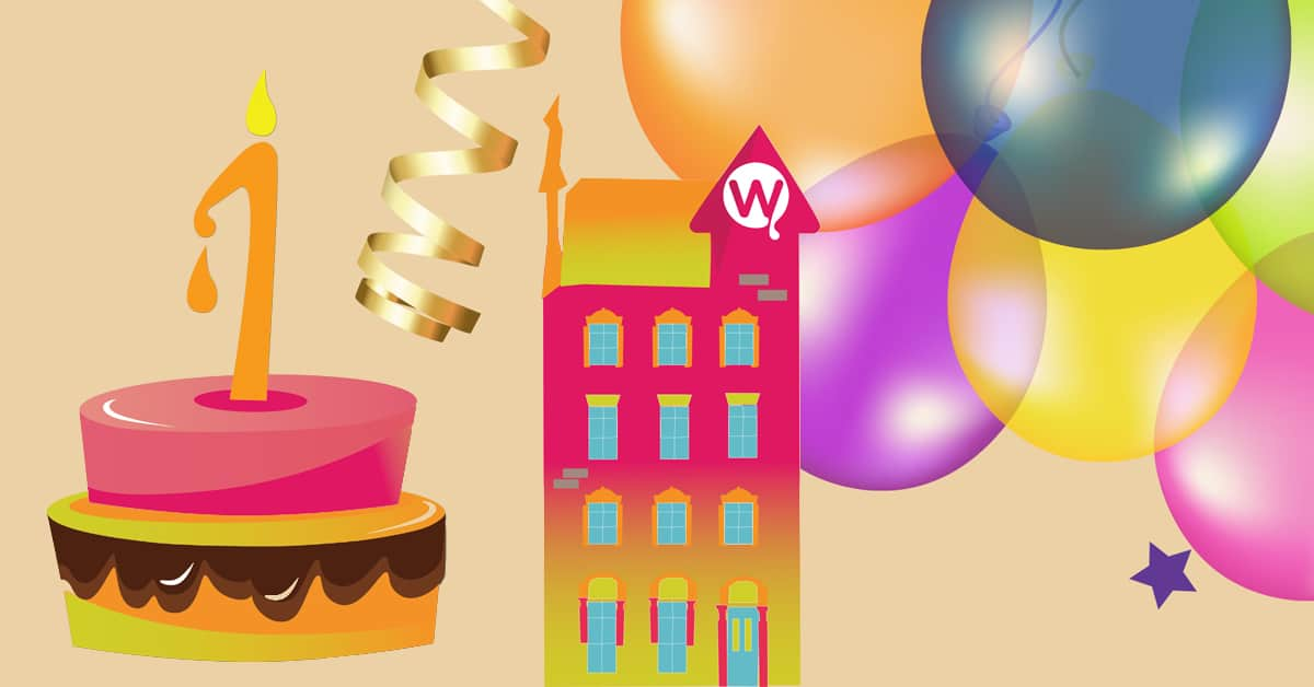 Free Cake To Celebrate Our First Birthday On Westmoreland Street